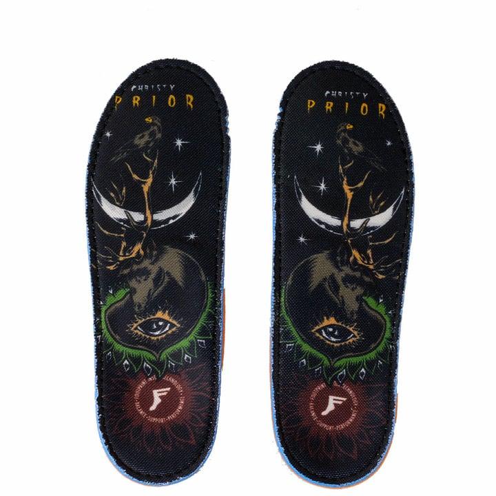Christy Prior Kingfoam orthotics for snowboard boots